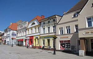 Darłowo - Tenements in the Old Town