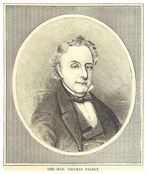 Thomas Talbot (Upper Canada) - Thomas Talbot