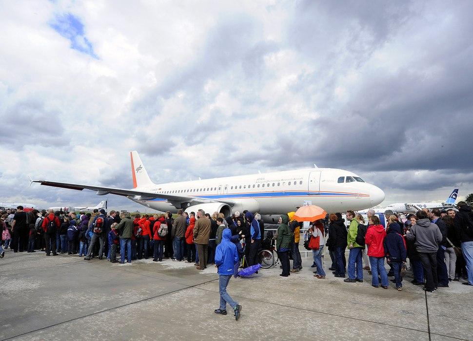 DLR-Forschungsflieger A320-232 D-ATRA