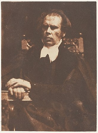 Free Church of Scotland (1843–1900) - Dr. Welsh, the Church of Scotland's Moderator, who preached, read a Protest and walked out.