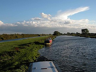 River Great Ouse River in England