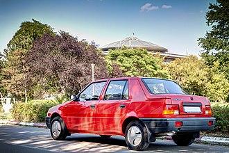 Dacia Nova - Image: Dacia Nova GT Back