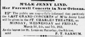 Daily Crescent 3 March 1851 p 2 crop - Jinny Lind Farewell Concerts in New Orleans.png