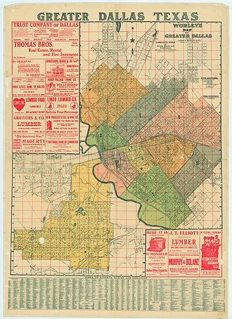 History of Dallas - Dallas in 1905