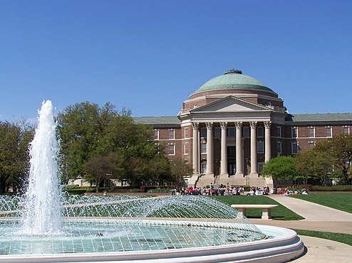 Dallas Hall at Southern Methodist University in University Park, Texas Dallas Hall.jpg