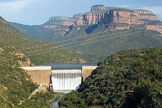 Blyderivierpoort Dam Dam in Mpumalanga