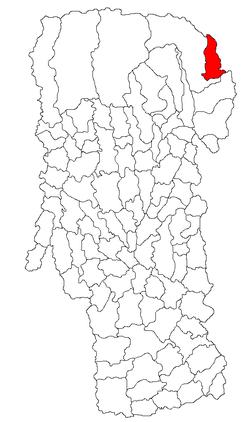 Vị trí của Dâmbovicioara