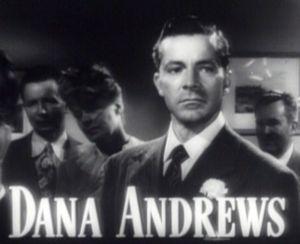 Schauspieler Dana Andrews