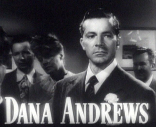 Dana Andrews in Best Years of Our Lives trailer