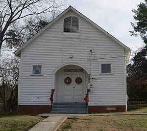 National Register of Historic Places listings in Jefferson County, Tennessee - Image: Dandridge Christ Temple AME Zion from NW 1