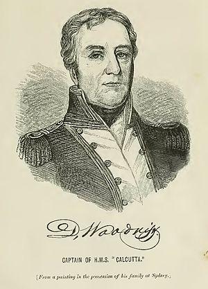 Daniel Woodriff - Image: Daniel Woodriff Captain of HMS Calcutta