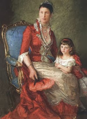Princess Louise of Denmark (1875–1906) - Princess Louise with her mother, Crown Princess Louise.