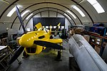 Danmarks Flymuseum, Stauning - restoration hangar, Fairey Firefly (27821079556).jpg