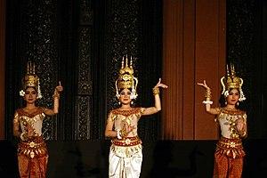 Robam Tep Apsara - Apsara dancers at the Bassac Theatre.