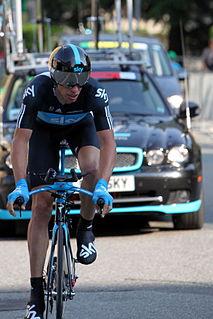 Dario Cioni at the Tour de Romandie 2011