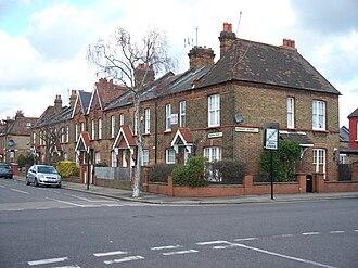 Noel Park - Image: Darwin Road & Farrant Avenue