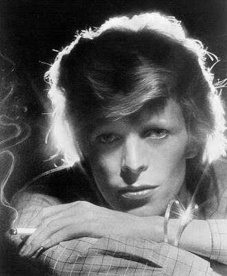 Art rock - David Bowie photographed in 1975