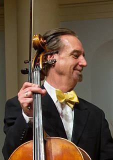 David Finckel American cellist