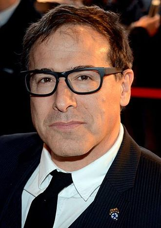 David O. Russell - Russell at the Paris premiere of American Hustle, February 2014