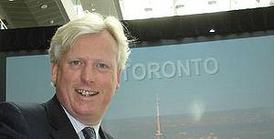 """David Miller launching """"ICT Toronto""""..."""