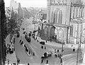 De Westzijde van de Nieuwe Kerk aan de Nieuwezijds Voorburgwal te Amsterdam gezi, Bestanddeelnr 189-0267.jpg