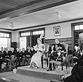 De koningin houdt een toespraak tijdens de plechtige vergadering van de Staten v, Bestanddeelnr 252-4261.jpg