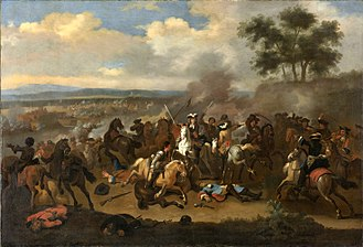 The Troubles - The Battle of the Boyne (12 July 1690) by Jan van Huchtenburg