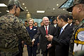 Defense.gov News Photo 100721-D-7203C-011 - Secretary of State Hillary Rodham Clinton and Secretary of Defense Robert M. Gates meet with U.S. and Korean troops north of Seoul South Korea in.jpg