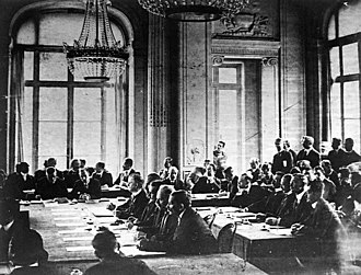 Treaty of Bucharest (1918) - Image: Delegates at Peace of Bucharest