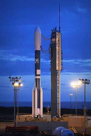 Technogaianism - The Delta II rocket with climate research satellites, CloudSat and CALIPSO, on Launch Pad SLC-2W, VAFB.