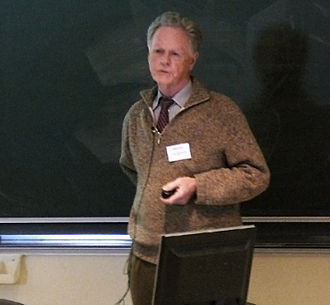 Arthur P. Dempster - Prof Dempster at the workshop on Belief Function Theory (Brest 1 April 2010).