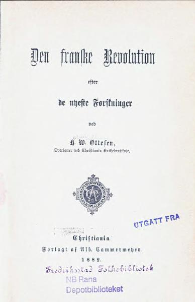 File:Den franske Revolution efter de nyeste Forskninger.djvu