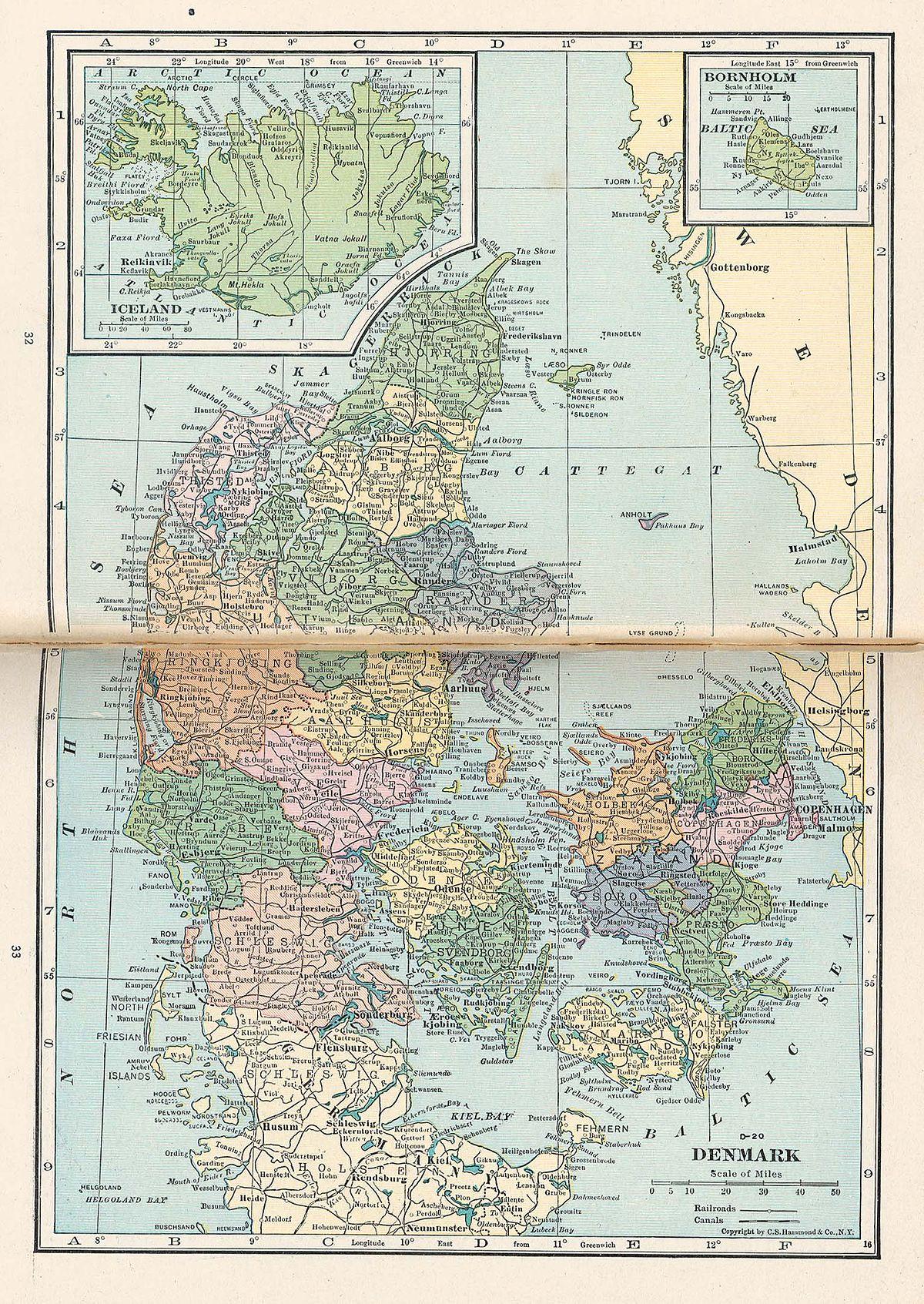 Genforeningen I 1920 Wikipedia Den Frie Encyklopaedi
