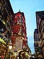 Depuis la place des cordiers. Façades de Noel à Strasbourg. Rue des tailleurs de pierre en direction de la cathédrale. - panoramio.jpg