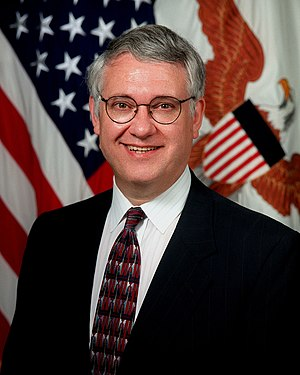 Under Secretary of Defense (Comptroller) - Image: Deputy Secretary of Defense John Hamre, official portrait