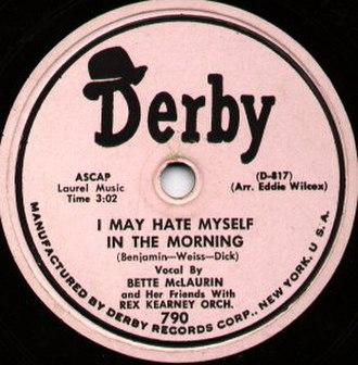 Derby Records - Image: Derby Record