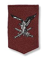 Derde mouwembleem luchtmobiele brigade