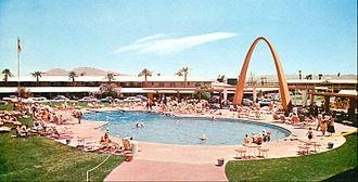 Desert Inn - The pool in 1955