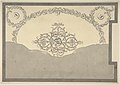 Design for a Chimneypiece with a Classical Cornice, for Ampthill Park, Bedfordshire, Dining Room MET DP800995.jpg