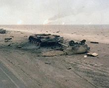Gulf war wikipedia iraqi tanks destroyed by task force 1 41 infantry during the 1st gulf war february 1991 sciox Image collections