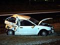 Destroyed Mitsubishi Mirage - Flickr - Highway Patrol Images.jpg
