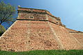 Dettaglio Mura Fortezza di Poggio Imperiale.JPG