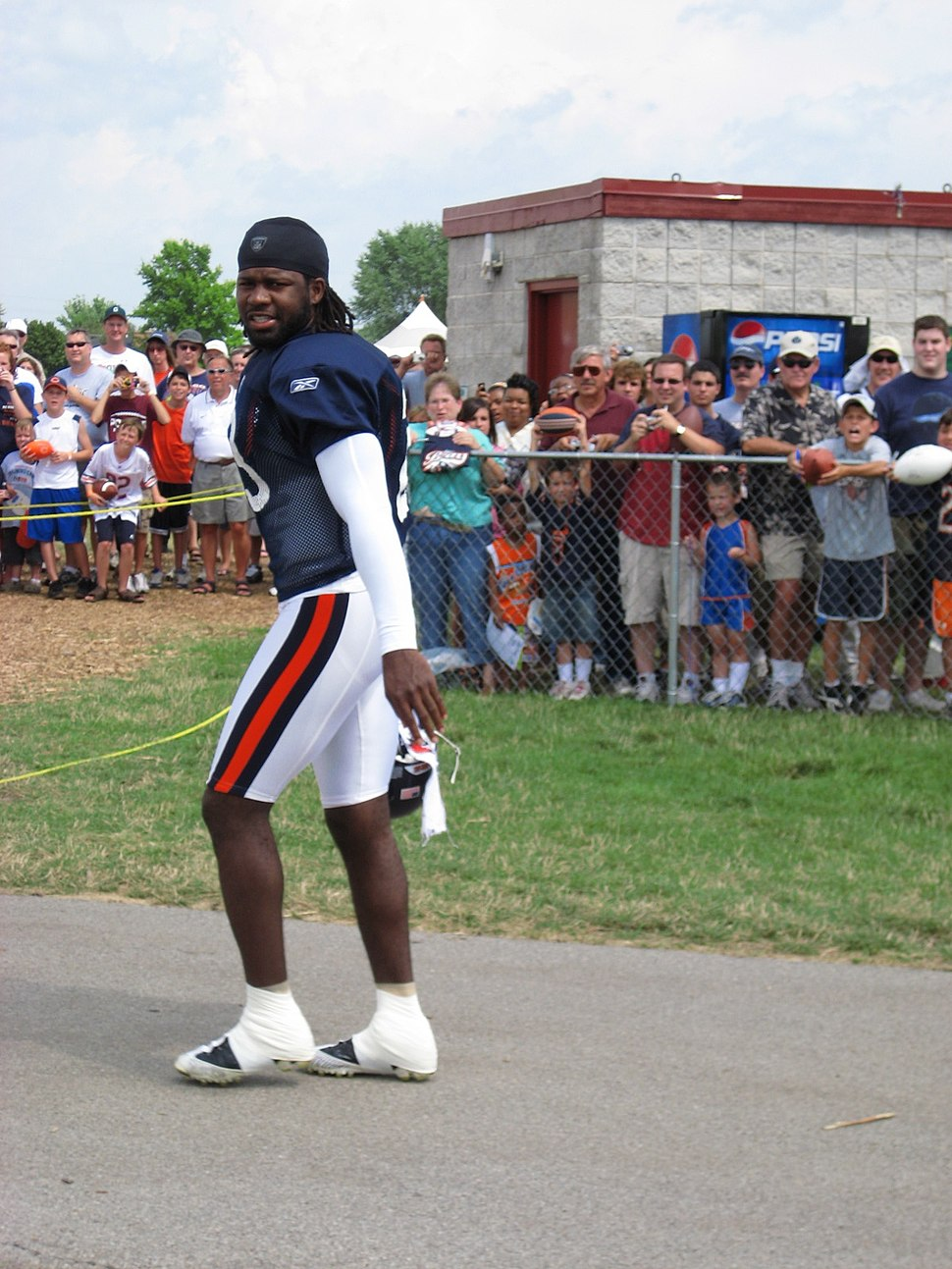 Devin Hester at Training Camp