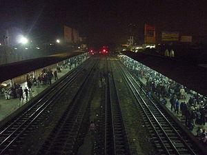 Narayanganj–Bahadurabad Ghat line - Dhaka Bimanbandor railway station