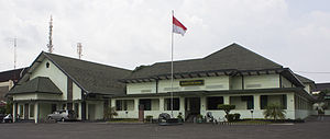 Sudirman - The first dedicated TKR headquarters, located in Gondokusuman, Yogyakarta; it is now the Dharma Wiratama Museum.
