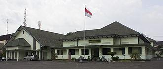 Sudirman - The first dedicated TKR headquarters, located in Gondokusuman, Yogyakarta; it is now the Dharma Wiratama Museum.
