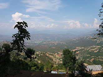 Dhulikhel - It is captured from bhatti danda dhulikhel..