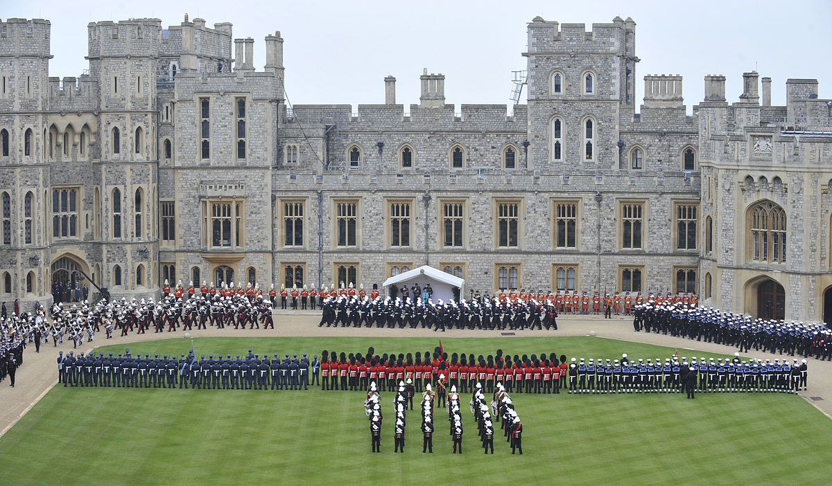 Diamond Jubilee Armed Forces Parade And Muster Wikipedia
