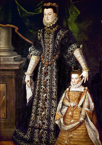 """Henry IV of France's wives and mistresses - Henry's mistress Diane d'Andouins, Countess of Gramont, was nicknamed """"La Belle Corisande""""."""