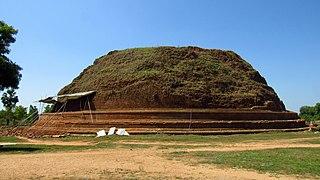 Dighavapi Buddhist shrine in Ampara District, Sri Lanka
